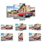 BILD LEINWAND BILDER ( 30 Muster ) DIGITAL ART Automotive Rote Auto  0506 de