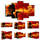 BILD LEINWAND BILDER ( 48 Muster ) DIGITAL ART Abstraktion Feuer 0108 de