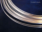 5' 14K Gold-Filled Dead Soft Round Jewelry Wire 14 16 18 20 22 24 26 28 GA Gauge