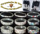 stretch chaton FASHION BRACELET BANGLE BLING CRYSTAL RHINESTONE BEAD DIAMANTE