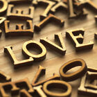 Wooden love word ideal for cardmaking scrapbooks embellishments craft projects