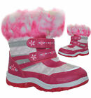GIRLS WINTER KIDS FUR SNOW MOON MUCKER WATERPROOF WELLINGTON WELLIES BOOTS SHOES