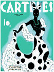 Carteles rumbera cover Green Decoration Poster. Fine Graphic Art Design. 3112