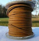 """ALL COLORS Suede Leather 1/8"""" Lace Cord 25 yd Craft blue red brown YOU CHOOSE"""