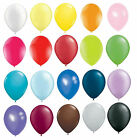 "WEDDING PARTY 12"" INCH STANDARD BALLOONS, ALL COLOURS 10's, 25's, 50's or 100's"