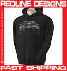 AUDI RS4 A4 MENS HOODIE STUNNING ARTWORK DTG ALL SIZE & COLOURS AVAILABLE R3