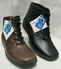 Ladies Easy B Calypso Black or Brown leather boots EE fitting(extra wide)