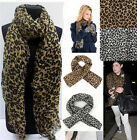 Fashion 1pc Sexy Top Quality Ladies Leopard Chiffon Long Scarves Shawl Wrap