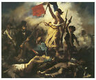Liberty Leading the People, c.1830 - Eugene Delacroix - Art on Canvas