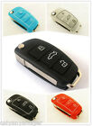 Silicone Protective Cover Audi A6 A6L Q7 Q5 3 Button Remote Key Case Shell FOB