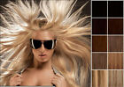 "16"" -24""  100% human hair ONE PIECE SET 5 clips clip-in extension 100g full head"