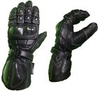 PROFESSIONAL LEATHER WINTER SUMMER MOTORBIKE MOTORCYCLE GLOVES B4 SIZES M-L-XL