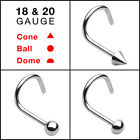 316L Surgical Steel Nose Screw Fit