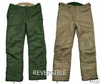 Swedish Army Reversible Thermal  / Bivvy Trousers, Water/Flame Resistant.#66522
