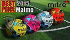 20 x **2015 GRAPHICS** NEW MITRE MALMO SIZE 4 - ALL COLOURS + FREE PT BALL SACK