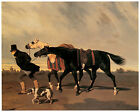 Return from the Race c 1842 Alfred de Dreux Horse Art on Canvas