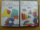 2 X Mini Masterminds 6 Titles Available 123 ABC Learn Fun NEW SEALED DVD Job Lot