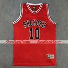 SLAM DUNK Cosplay Costume Shohoku School Basketball 10 Sakuragi Replica Jersey R