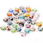Mixed Colors New Dots European Beads Charms For Bracelets