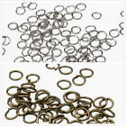 Wholesale 3 Colors New Iron Open Jump Rings For Jewellry Findings 0.7x5 mm