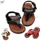Baby Toddler Girls Cute Open Toe Children Roman T Strap Gladiator Shoes Sandals