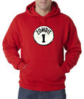 Zombie 1 One Dr Suess Thing Apocalypse Dead Walkers 50/50 Pullover Hoodie