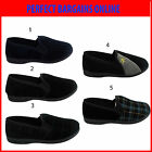 New Mens Flat Soft Comfort Novelty Slippers Slip On Pumps Loafer Shoes UK Sizes