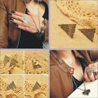 Fashion Vintage Punk Ring Pyramid Taper Geometrical Triangle Adjustable Ring