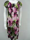 BNWT Girls Bold Floral Gypsy Style Quality Summer Dress Ages 7 8 9 10 11 12 13
