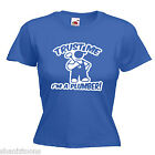 Plumber Ladies Lady Fit T Shirt 13 Colours Size 6 - 16