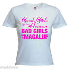 Bad Girls Magaluf Hen Party Ladies Lady Fit T Shirt 13 Colours Size 6 - 16
