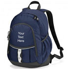 Personalised Quadra Pursuit Backpack Rucksack- All Purpose School Sports Travel