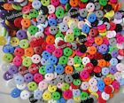Multi 15color resin sewing clothes kid scrapbooking flatback buttons 9mm 0.35in