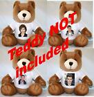 UNION J TEDDY T-SHIRT (TEDDY BEAR NOT INCLUDED)- SMALL OR LARGE AVAILABLE