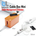 BlueLounge Cable Box Mini Decorative Cord Holder Organizer Cable Management