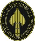 U.S. Army Special Op Command Window Wall Vinyl Decal Sticker Military