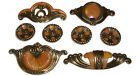 1930s Bakelite Style Drawer Pulls, for Waterfall, Depression, Art Deco, Moderne