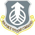 U.s. Air Force Systems Command Wall Window Vinyl Decal Sticker Military