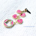 Girls' generation SNSD sone ALLOY PHONE STRAP with antidust plug KPOP NEW