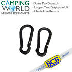 BCB Karabiners Set - 2 Piece Hand Accessory Ideal for Keys Mugs Torches