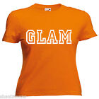 Glam Ladies Lady Fit T Shirt Size 6 -16