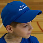 Personalised Junior Kids Cool Cap - Childs Size Hat - Name Slogan Customised
