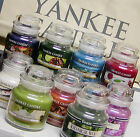 Yankee Candle 3.7 oz SMALL JAR CANDLES Retired Black Band & New VARIETY U CHOOSE