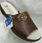 Ladies DB easy b Corsica Brown Leather Mule