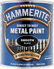 Hammerite - Smooth Direct To Rust Metal Paint - All Colours - All Sizes Stocked