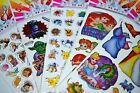 3 Sheets Kids Fun Girl Boy Crafts Stickers Birthday Party Supply Goodie bags