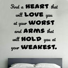 Find A Heart Decal Vinyl Wall Sticker Art Home Sayings Popular