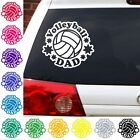 Volleyball Dad decal net sports beach sticker car truck.