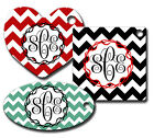 CUSTOM PERSONALIZED MONOGRAMMED KEY TAGS-THREE SHAPES TO CHOOSE FROM