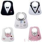 Lovely Baby Boys Girls Feeding Bib Waterproof Meals Burp Cloth Party Fancy Dress